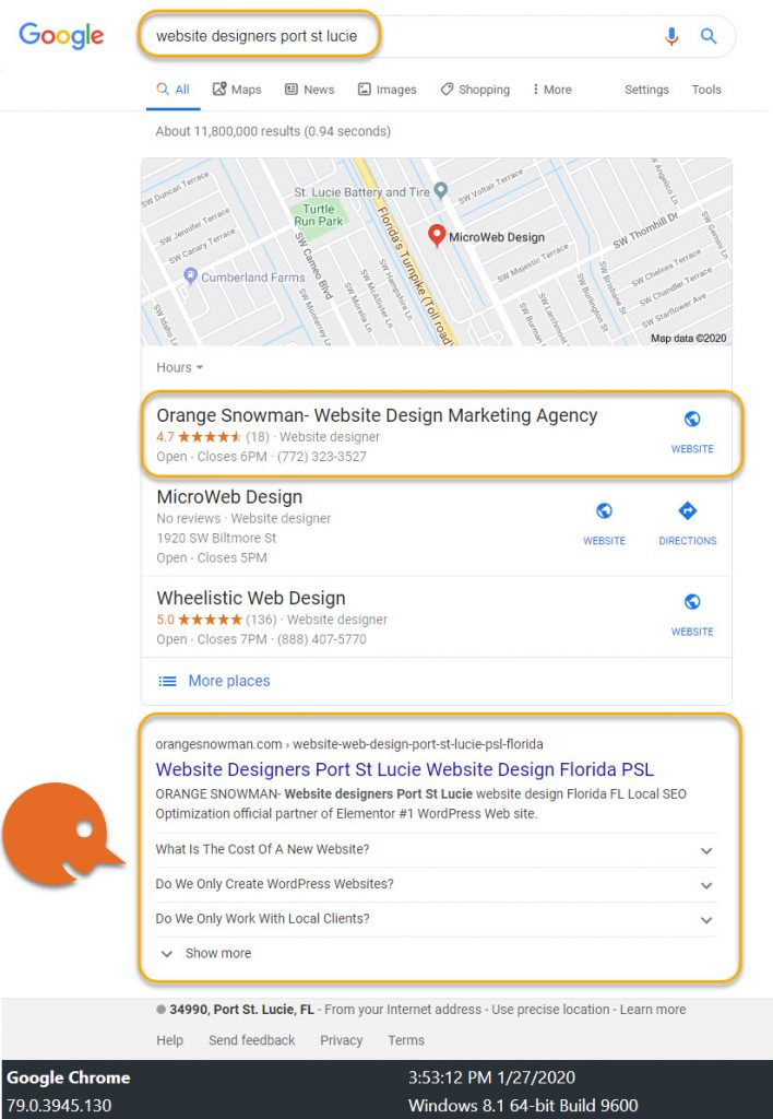 Why Choose Us? Local SEO 3
