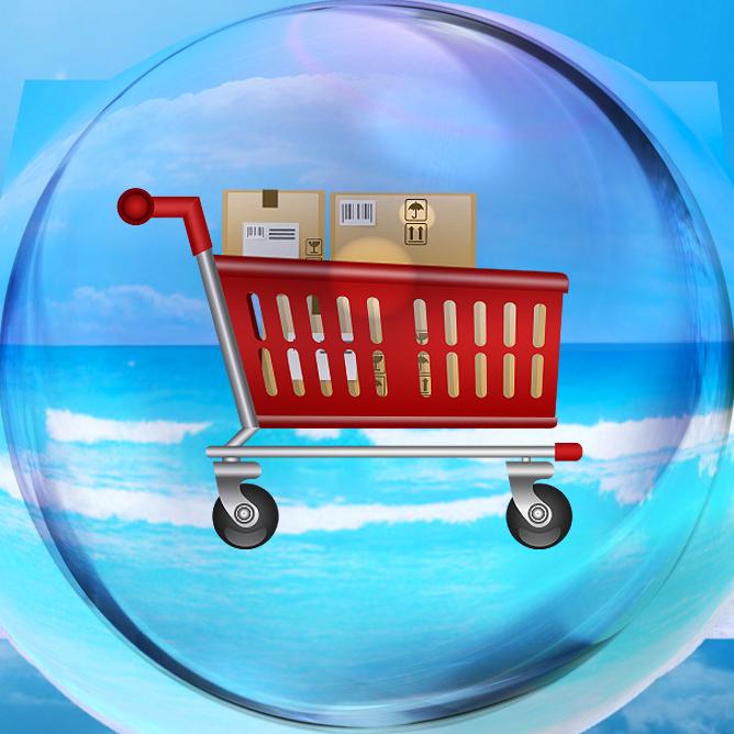 e-commerce webdesign shopping cart