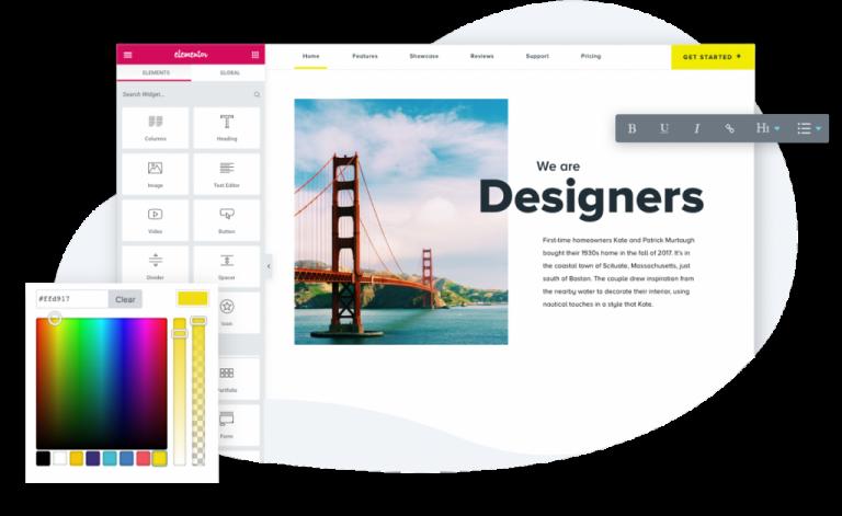 Elementor WP Designer