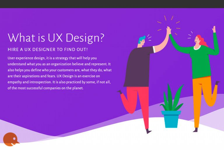 UX design ORANGE SNOWMAN user experience UX/UI