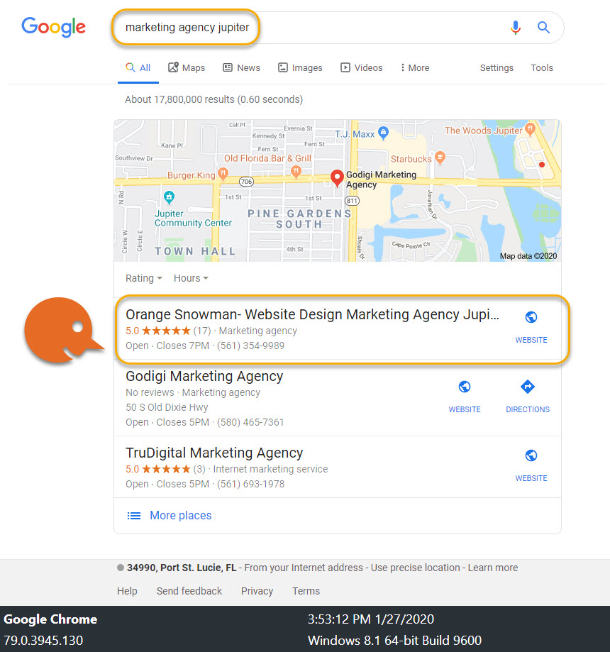 Why Choose Us? Local SEO 7