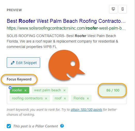 roofer on page optimization
