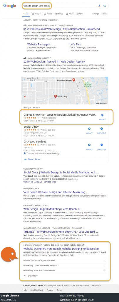 Why Choose Us? Local SEO 1