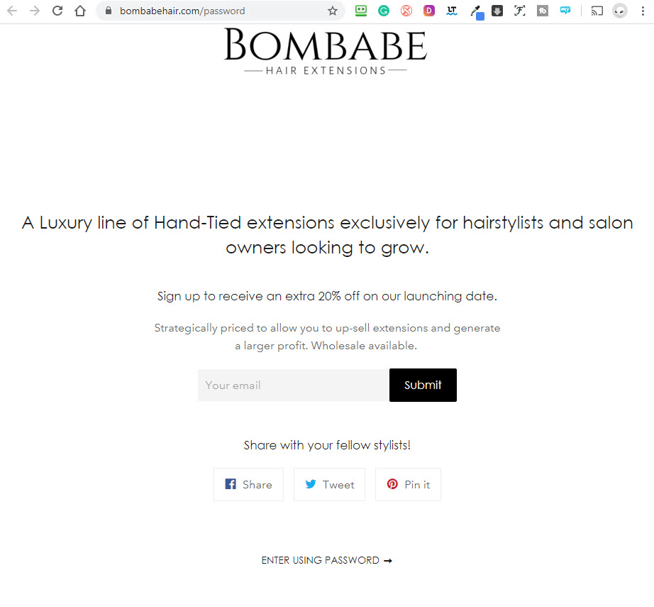 Hair Extensions Online Marketing 50