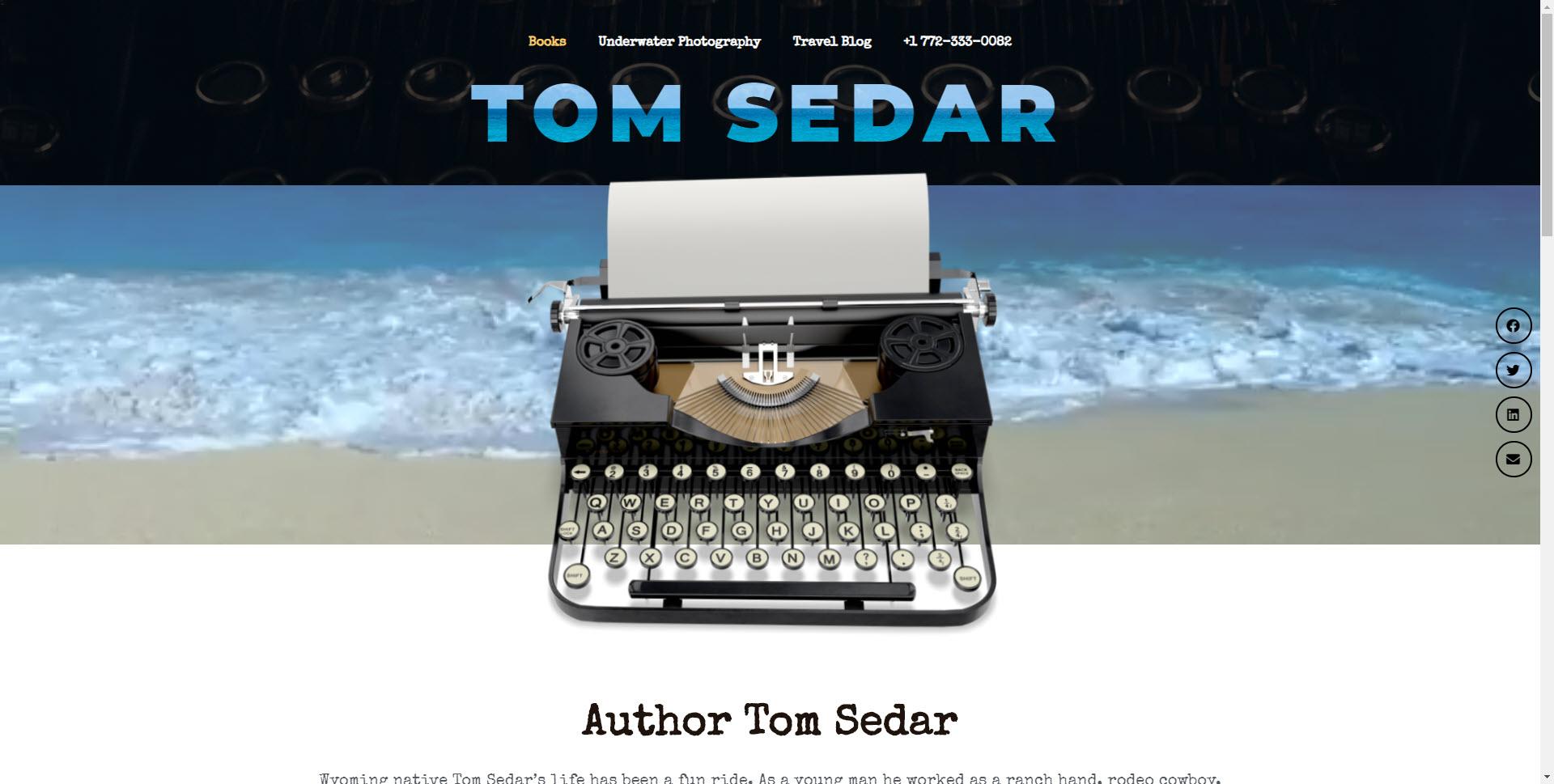 TOM SEDAR- Design & Promotion 9