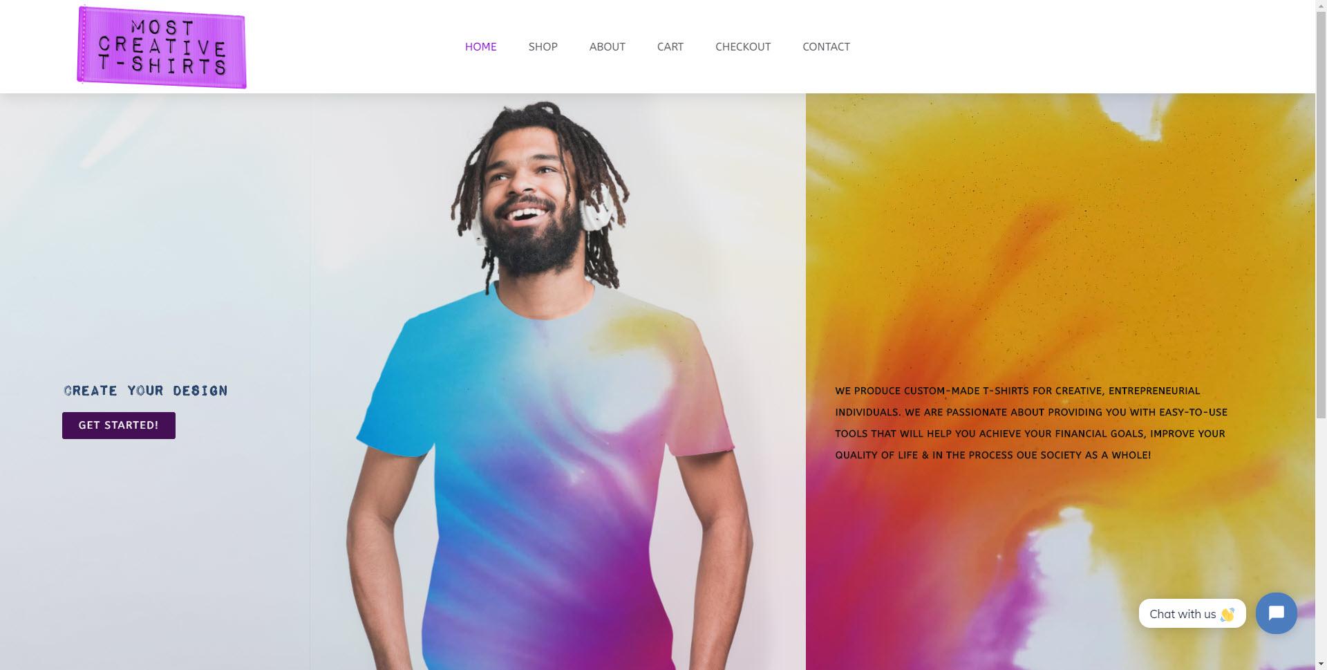 Marketing & Design for T-shirt Company 5