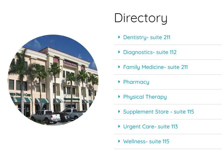 Medical Care Website Design 75