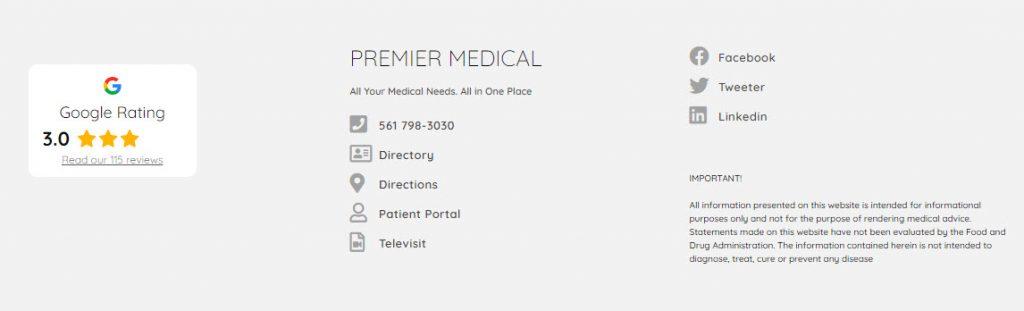 Medical Care Website Design 73