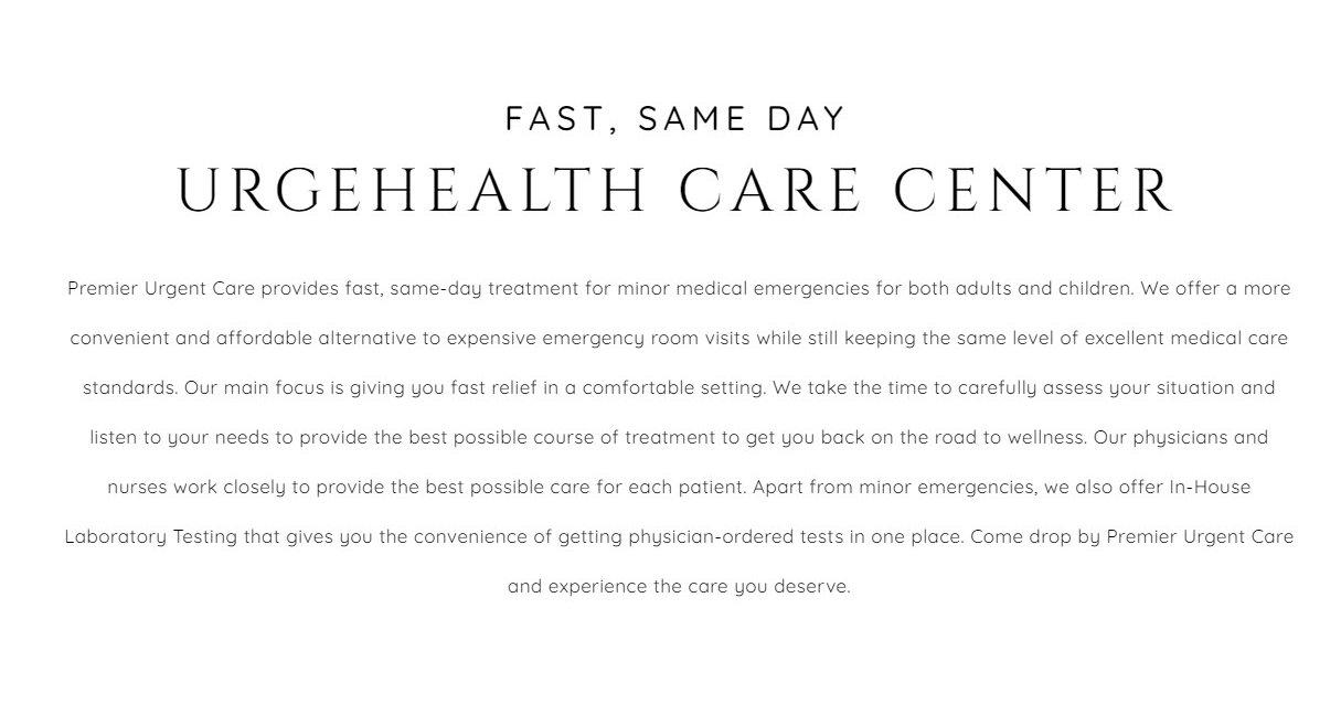 Emergency Care Website Design 31