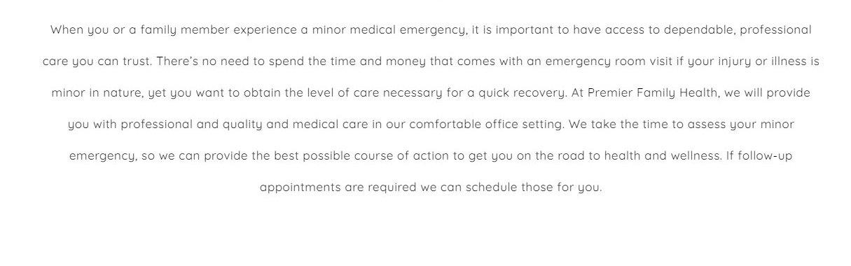 Emergency Care Website Design 41