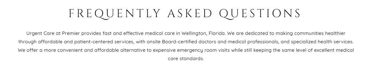 Emergency Care Website Design 42