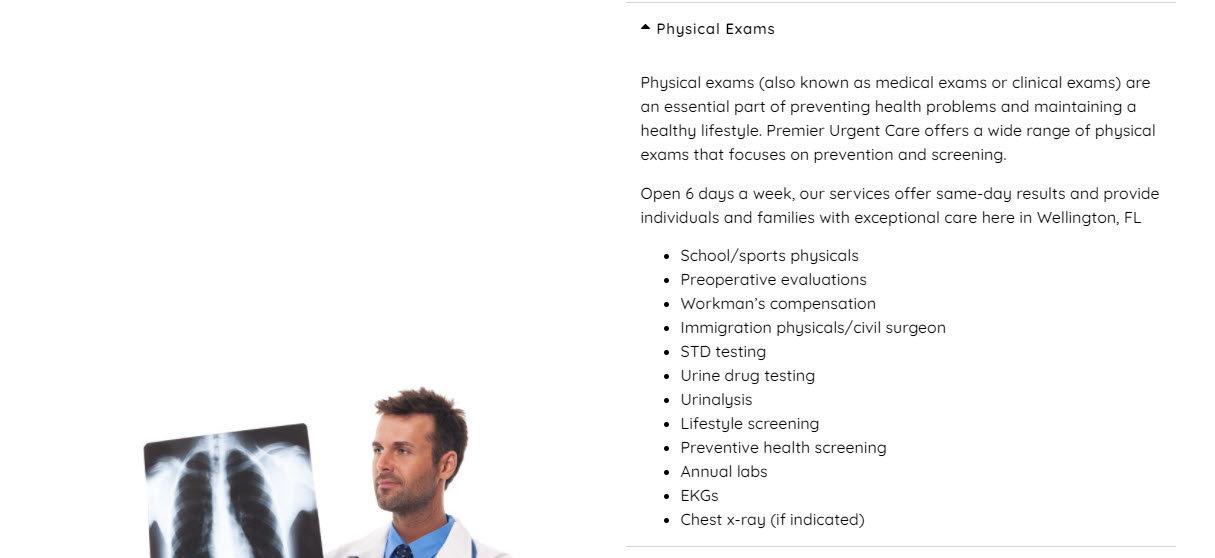 Emergency Care Website Design 36